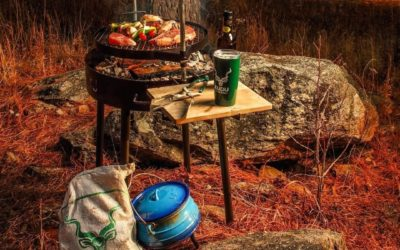 Happy Camper: Delicious Barbecue Recipes for Your Camping Grill