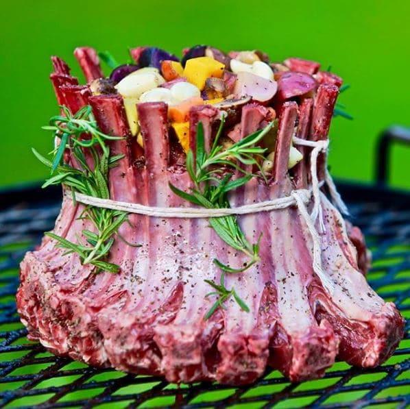 wood BBQ grill – KUDU Lamb Grill