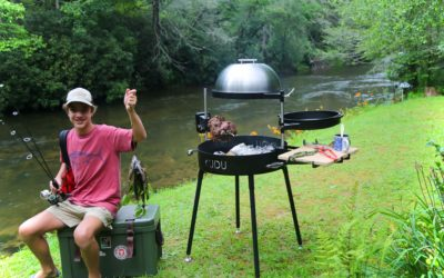 Cooking On Outdoor Cooking Grills on Fishing Trips