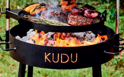 Kick-off With KUDU: Charcoal Grill Recipes