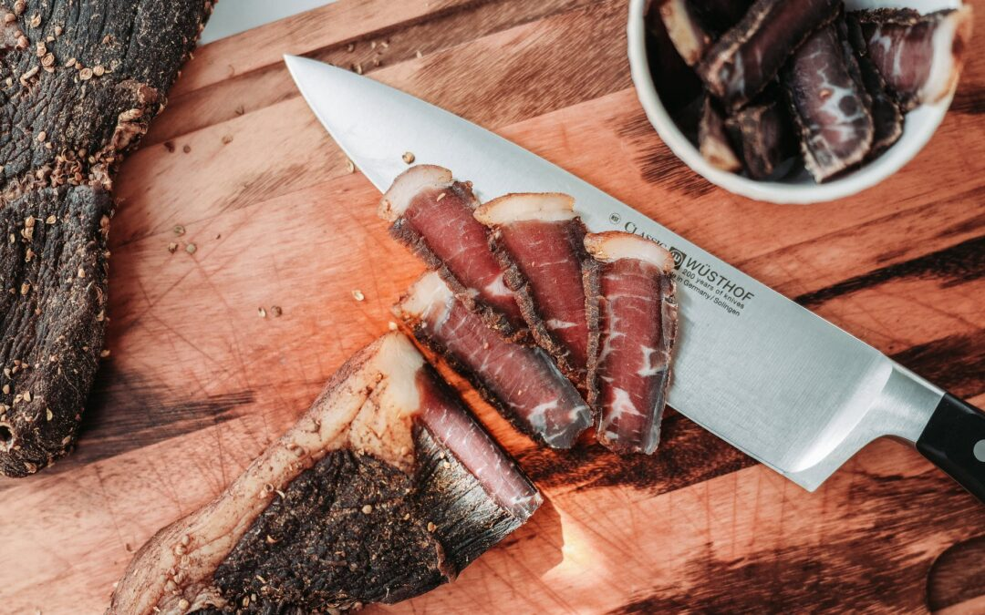 Using a Firegrill for Biltong That Doesn't Taste Like Beef Jerky